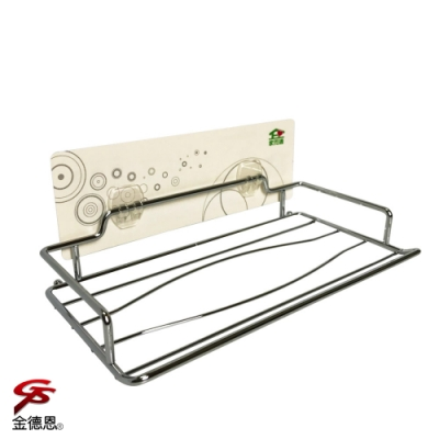 金德恩 台灣製造 免施工面紙抽取式衛生紙放置架強力無痕膠
