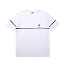 FILA #LINEA ITALIA 短袖圓領T恤-白 1TET-5401-WT