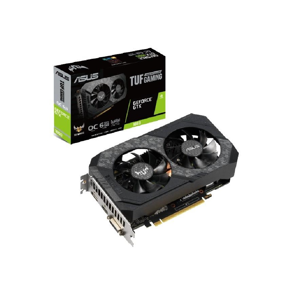 華碩 ASUS TUF GeForce GTX™ 1660 O6G GAMING 顯示卡