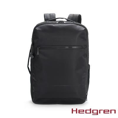 Hedgren INNER CITY商務旅行 15.6吋行李後背包 墨黑