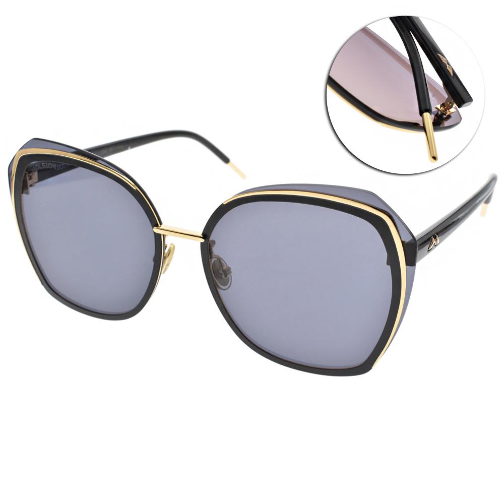 MOLSION太陽眼鏡 Angelababy代言/黑-金#MS7016 A10