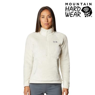 【美國 Mountain Hardwear】Monkey Woman2 Pullover 保暖刷毛立領套頭上衣 女款 石灰 #1902501