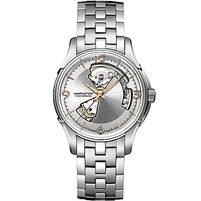 Hamilton漢米爾頓JazzMaster 經典鏤空機械錶-H32565155