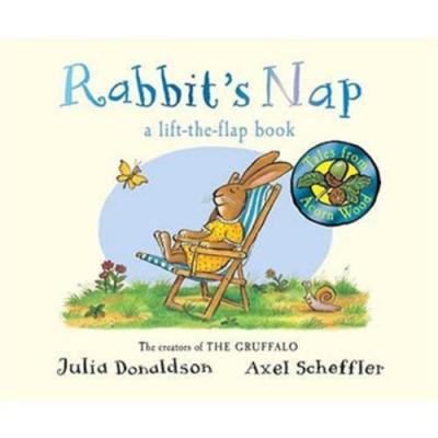 Tales From Acorn Wood:Rabbit s Nap 兔子累了硬頁翻翻書