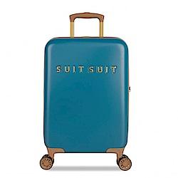 SUITSUIT Fab Seventies 復古系列 行李箱 20吋-航海藍