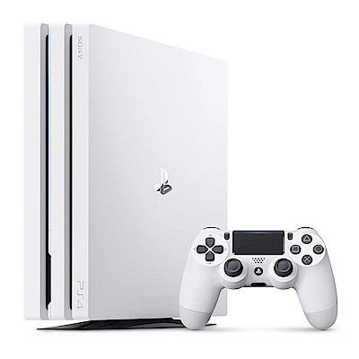 [暑期活動限定] PS4 Pro 1TB主機 台灣公司貨 (白色)