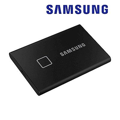 SAMSUNG 三星T7 Touch 1TB USB 3.2 Gen 2移動固態硬碟 經典黑 (MU-PC1T0K/WW)
