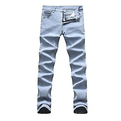 BuyGlasses 韓版修身剪裁水洗牛仔褲