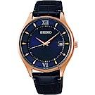 SEIKO 精工 SPIRIT SMART 耶誕限量太陽能鈦金屬男錶(SBPX116J)