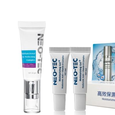 NEO-TEC妮傲絲翠玻尿酸海洋膠原保濕眼霜20g(加贈高效保濕凝露5mlx2)