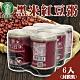 【萬丹鄉農會】黑米紅豆粥-(封膜裝) (250g-6入 x2組) product thumbnail 1