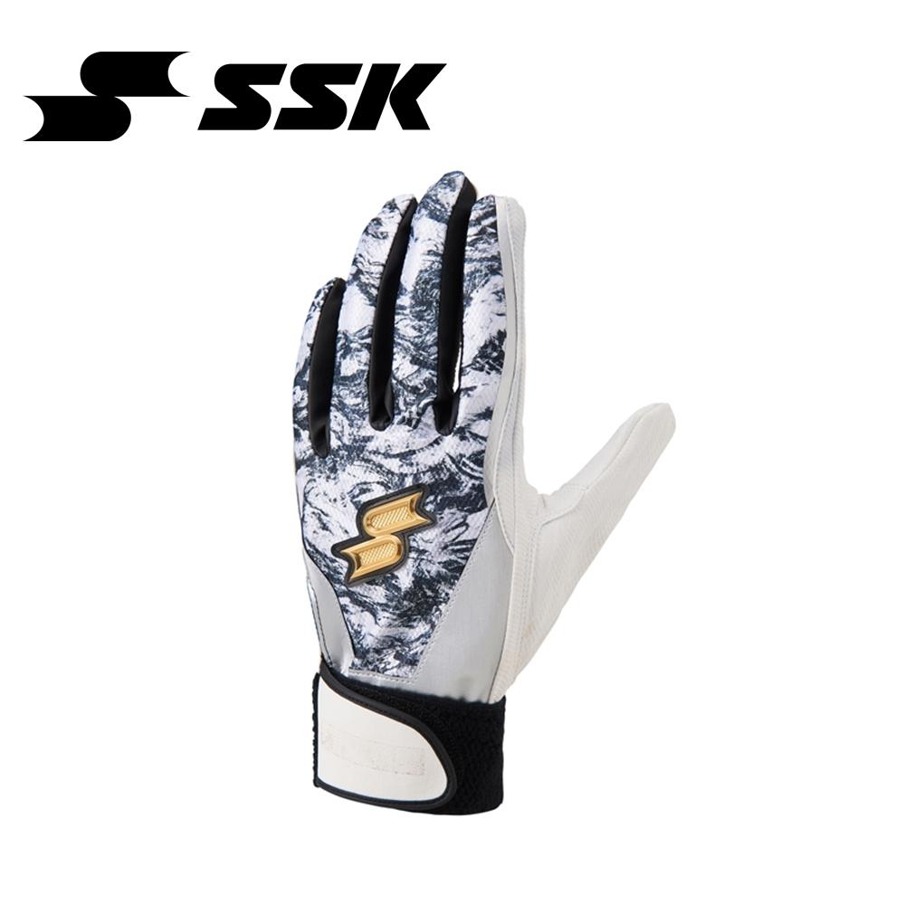 SSK   打擊手套   黑/銀   EBG5011WF-9095