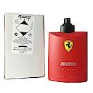 Ferrari Red 紅色法拉利 男性淡香水 125ml TESTER(新包裝)