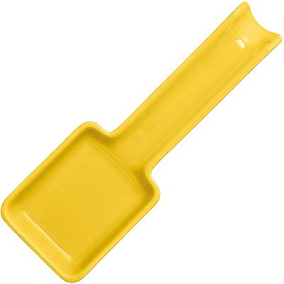 EXCELSA Trendy陶製匙型鏟匙架(黃27cm)