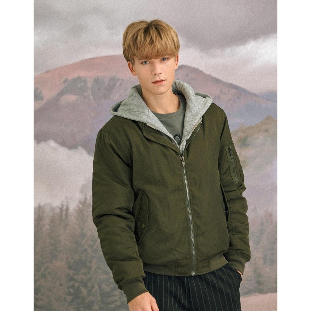 CACO-厚鋪棉MA1外套(二色)-情侶款-男【A1AR045】