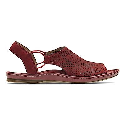 Clarks Sarla Cadence 女涼鞋 紅