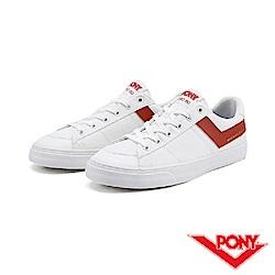 【PONY】PRO 80系列-經典復古休閒鞋-男-紅