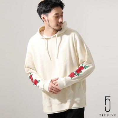 刺繡寬版運動帽TEE(4色) ZIP日本男裝