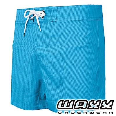 WAXX 衝浪系列-藍色風暴快乾型男海灘褲(13英吋)