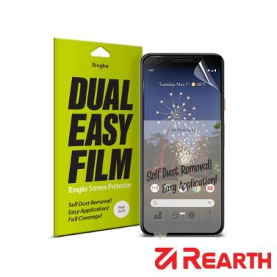 Rearth Google 3a XL 滿版抗衝擊螢幕保護貼(兩片裝)