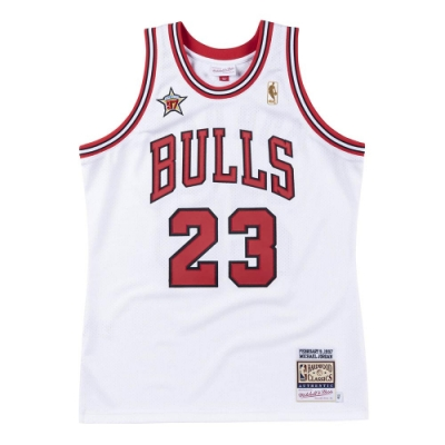 M&N Authentic球員版復古球衣 All-Star Game 1997 #23 Michael Jordan
