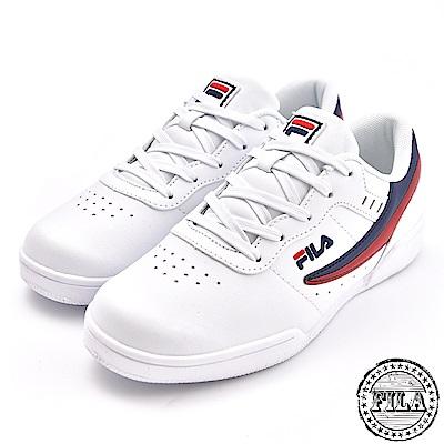 FILA 情侶款 復刻經典網球鞋 4 J327T 123