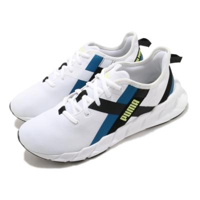 Puma 訓練鞋 Weave XT Twin 運動 女鞋 輕量 透氣 舒適 避震 健身房 球鞋 白 藍 19411803