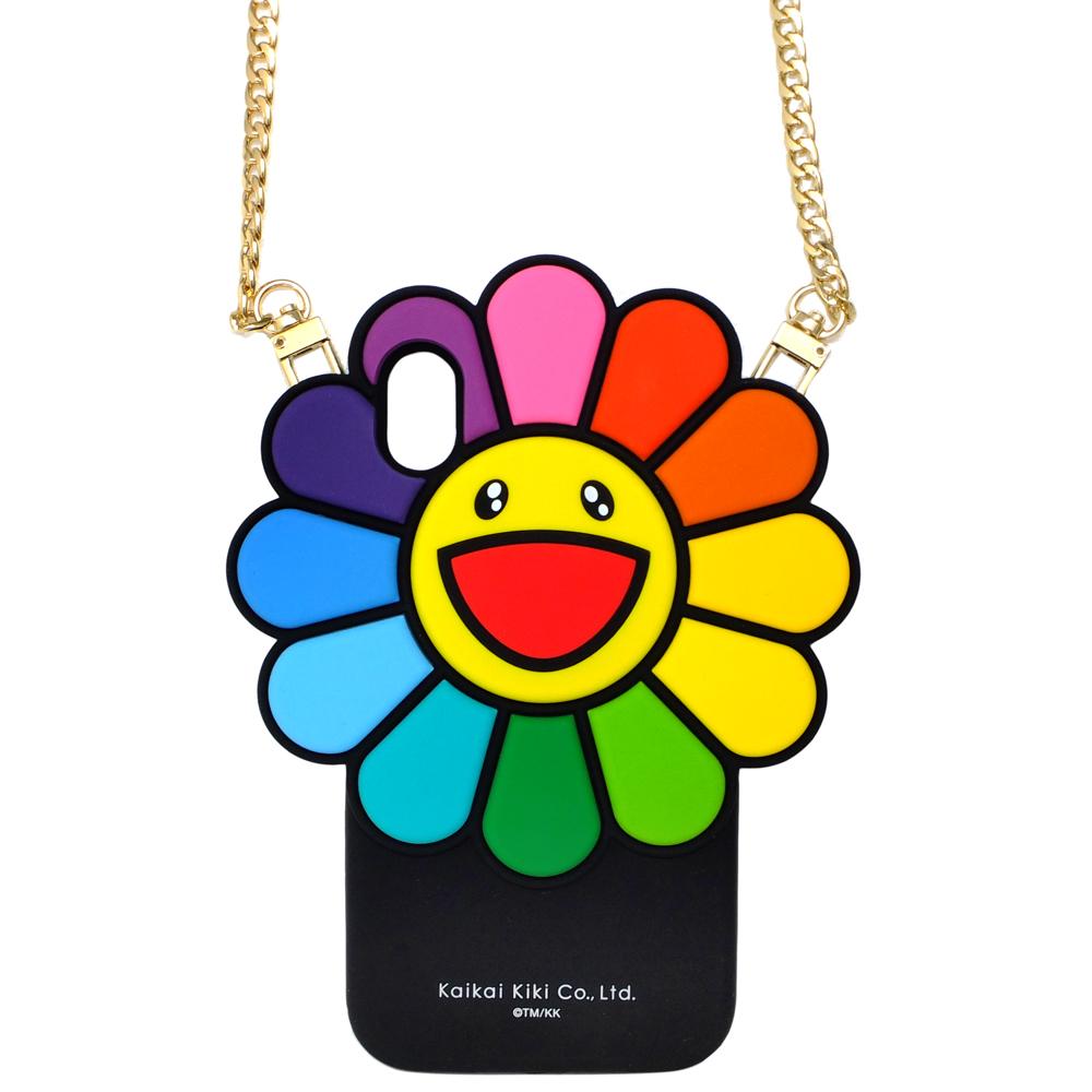 KaiKai Kiki 限量村上隆大花朵設計軟殼I Phone XS MAX手機殼