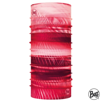 【西班牙BUFF】Coolnet抗UV頭巾-石榴漾紅
