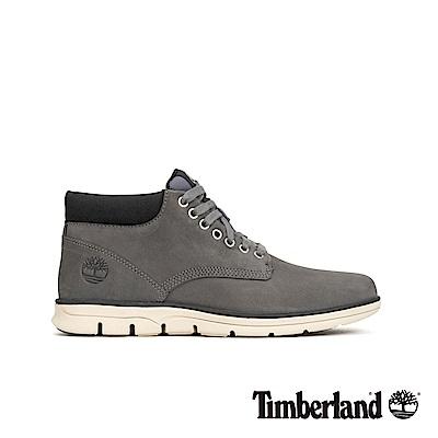 Timberland 男款中灰色絨面皮革短靴|A22M8