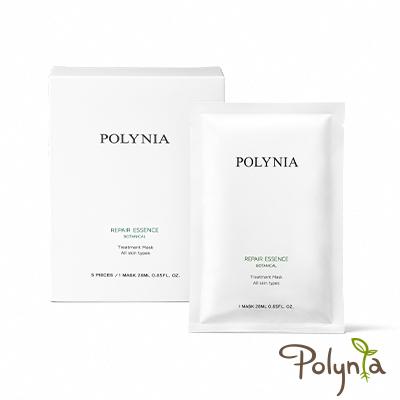 Polynia 璞亞 修護精華雙效片狀面膜 5入盒裝