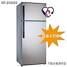 KOLIN歌林 579L 1級變頻2門電冰箱 KR-258V02 燦銀灰