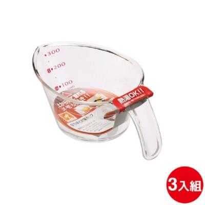 日本品牌 INOMATA化學 一目了然料理量杯 3入組