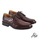 A.S.O 機能休閒 萬步健康鞋 異材質搭配商務休閒鞋-咖啡 product thumbnail 2