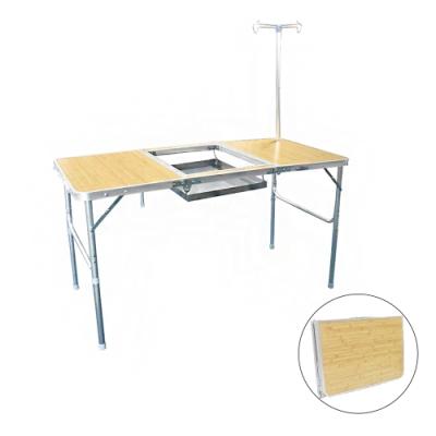輕便鋁合金可摺疊燒烤桌