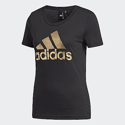 adidas T恤 Badge of Sport Foil 女款