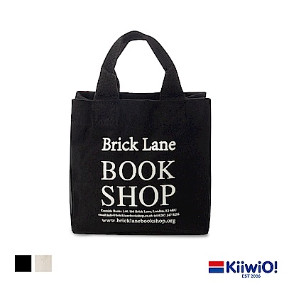 Kiiwi O! 手提帆布隨行袋 BOOKSHOP (多色選)