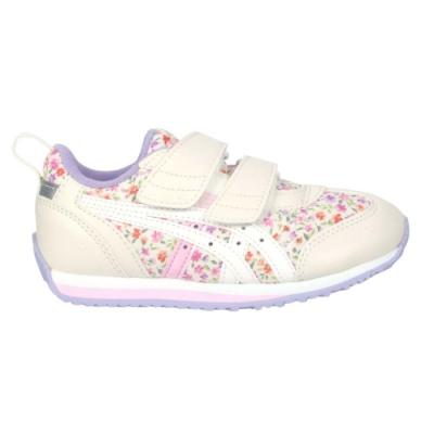 ASICS IDAHO MINI CT 3 女中童休閒運動鞋-慢跑 反光 亞瑟士 TUM187-500 米白紫粉