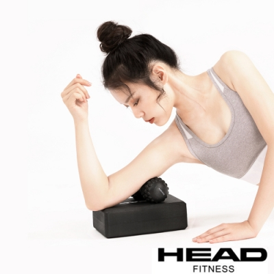 HEAD 按摩瑜珈磚組(含花生球、按摩球)