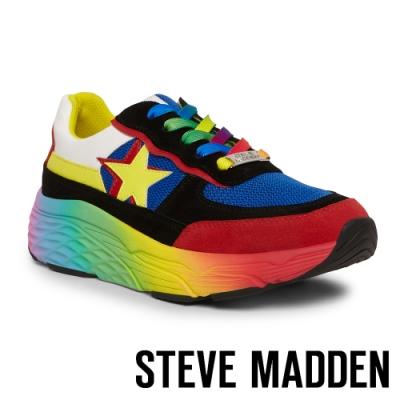STEVE MADDEN-FRANCEY 街頭炫彩 潮流星星厚底老爹鞋-彩色