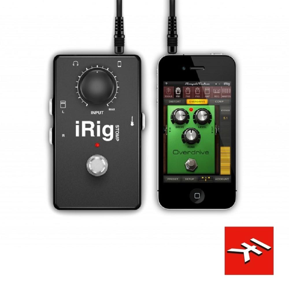 IK Multimedia  iRig STOMP效果器型吉他介面