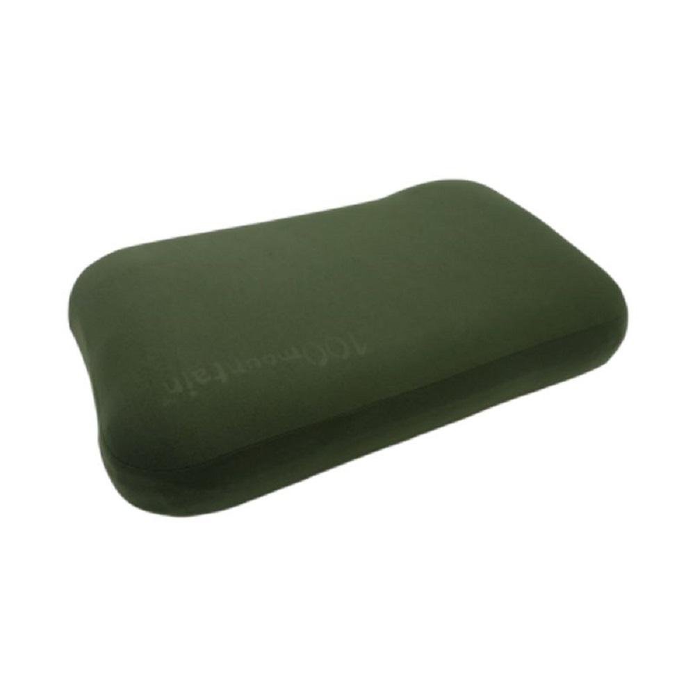 100mountain 天鵝絨3D枕頭 API-103MECL 松綠 僅125g!