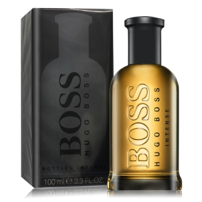 *Hugo Boss 自信極致男性淡香精 Bottle Intense100ml EDP-香水公司貨