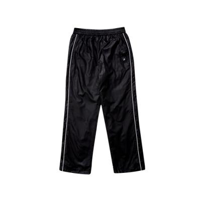 FILA KIDS 童風衣內刷長褲-黑 1PNT-8406-BK