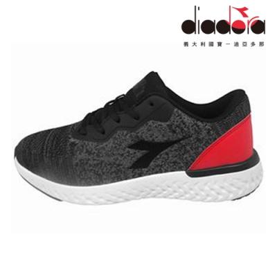 Diadora 男輕量慢跑鞋 寬楦 黑 DA9AMR6910