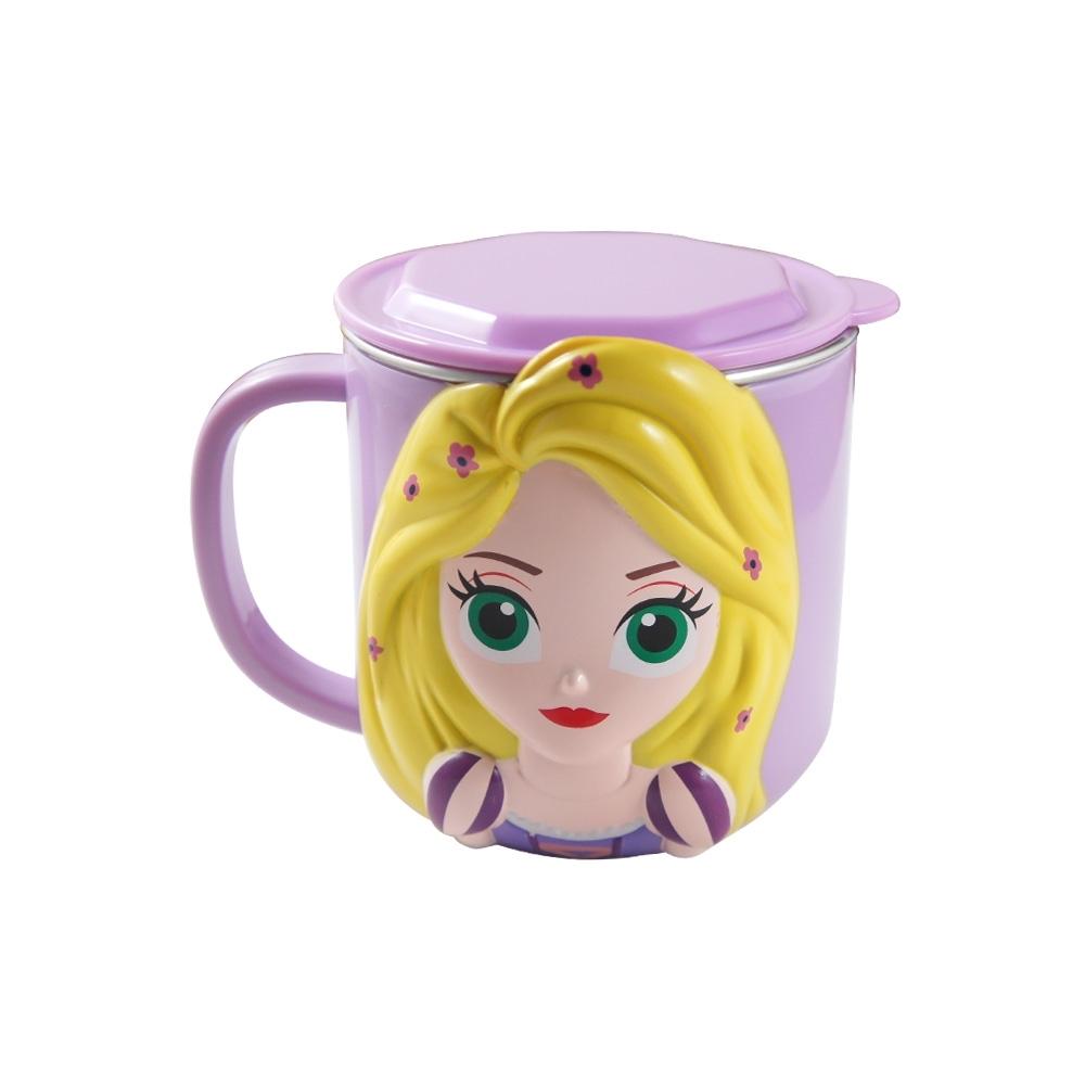 不鏽鋼可分離水杯-長髮公主