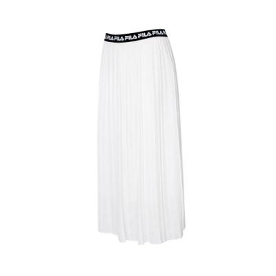 FILA #LINEA ITALIA 平織長裙-白色 5SKT-5430-WT