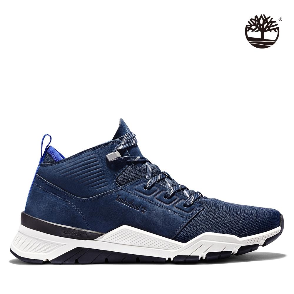 Timberland 男款海軍藍網面運動鞋 A2BR8