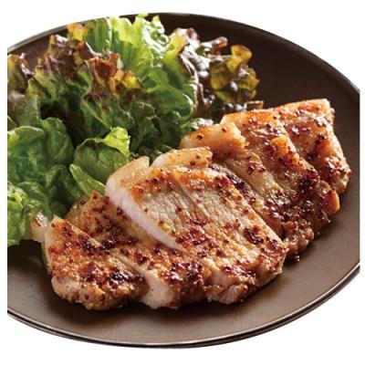 (滿額) 豪鮮牛肉 主廚蒜香無骨里肌豬排2片   (75公克±5%/片)