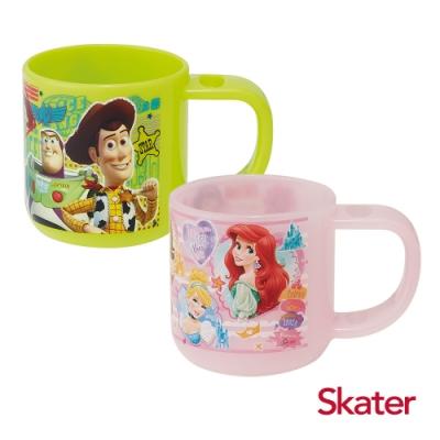 Skater牙刷杯-玩具總動員+迪士尼公主